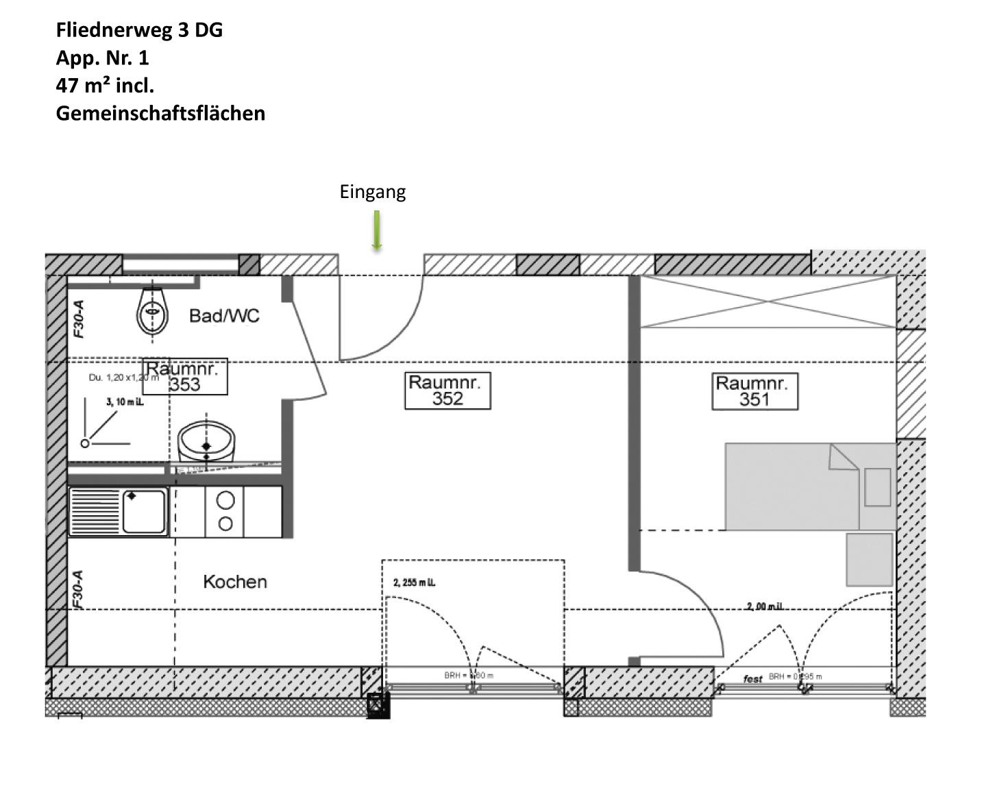 wohnen grundrisse seidencarr betreutes wohnen krefeld. Black Bedroom Furniture Sets. Home Design Ideas